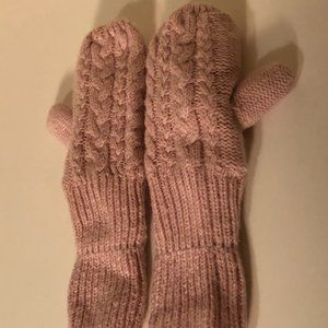 ** 8 for $25 ** H&M Toddler Pink Mittens 1-2 Years